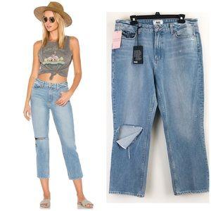 NWT Paige | Sarah High Rise Straight Leg Jeans